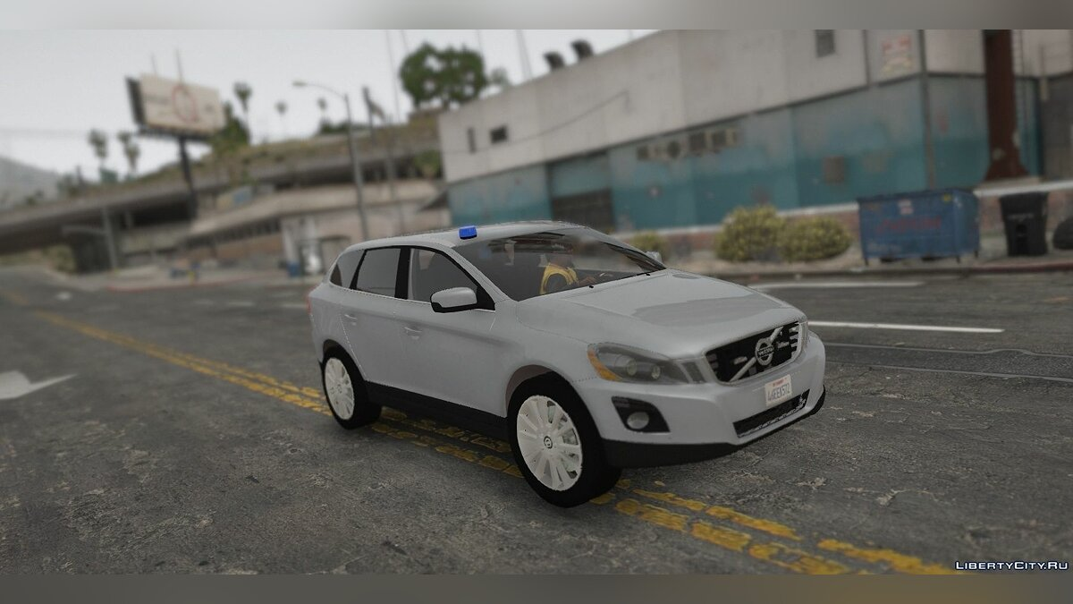 ��ашина полиции 2009 Volvo XC60 Unmarked Police (ELS/REPLACE/UNLOCKED) 1.0 для GTA 5