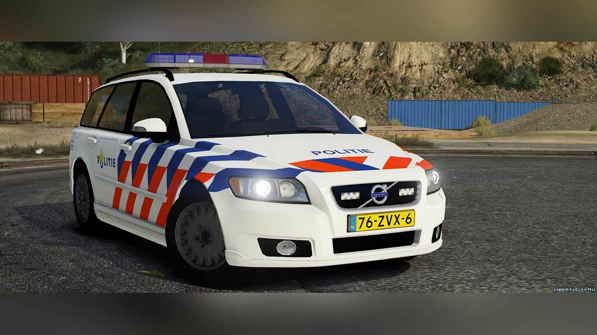 Volvo v50, Dutch police, TeamMoh 0.1 для GTA 5