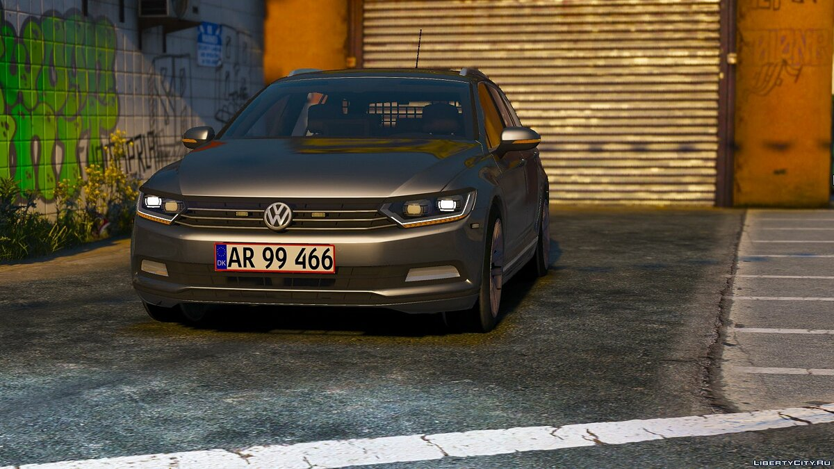 2015 Volkswagen Passat Variant - Unmarked Version - [ELS/REPLACE] 2.0 для GTA 5
