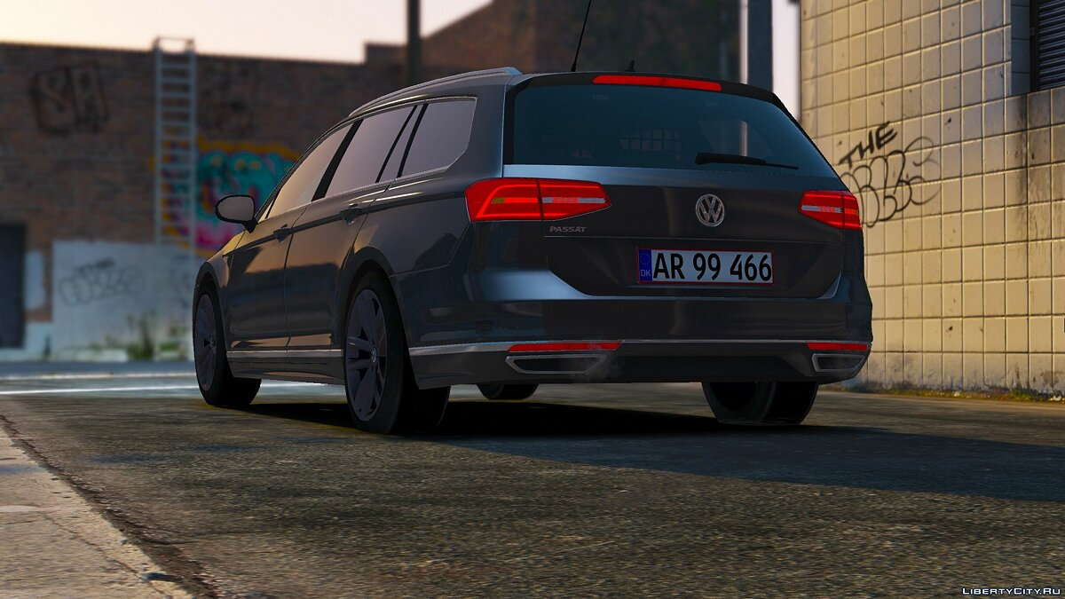 2015 Volkswagen Passat Variant - Unmarked Version - [ELS/REPLACE] 2.0 для GTA 5 - скриншот #3