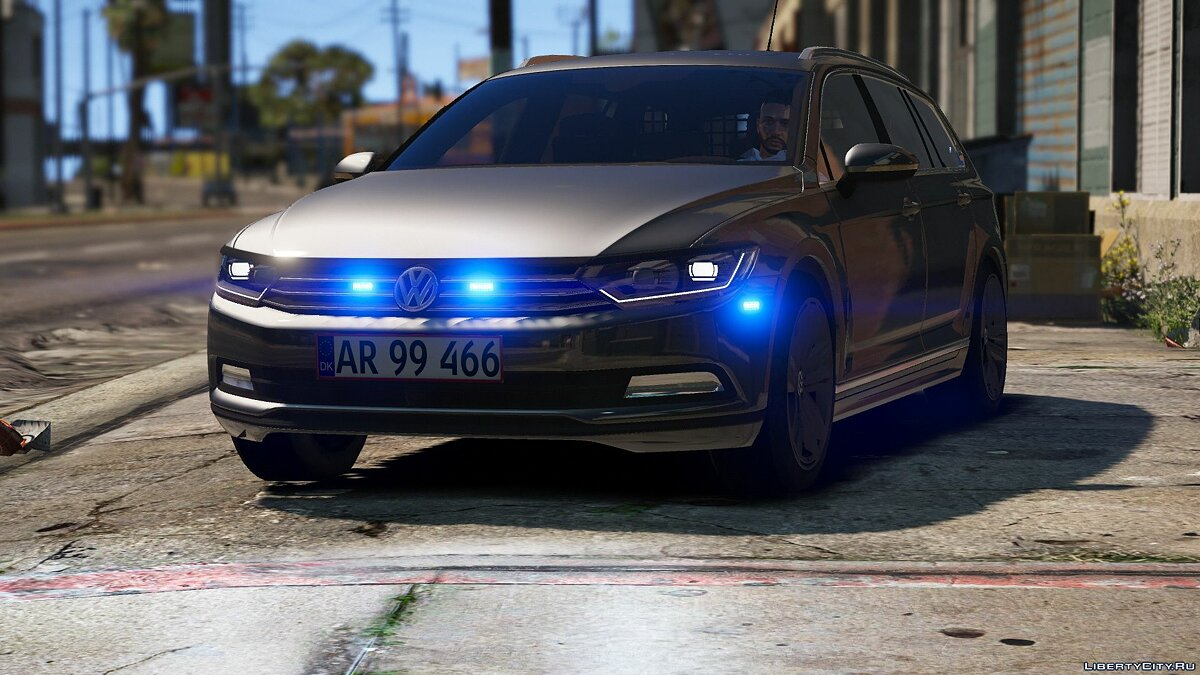 2015 Volkswagen Passat Variant - Unmarked Version - [ELS/REPLACE] 2.0 для GTA 5 - скриншот #6