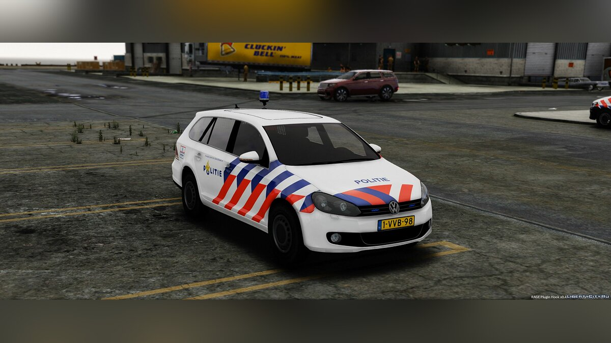 Volkswagen Golf Variant Dutch Police 1.1 для GTA 5 - скриншот #3
