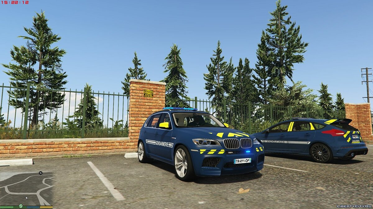 BMW X5 French Gendarmerie [ELS Template] 1.0 для GTA 5 - скриншот #4