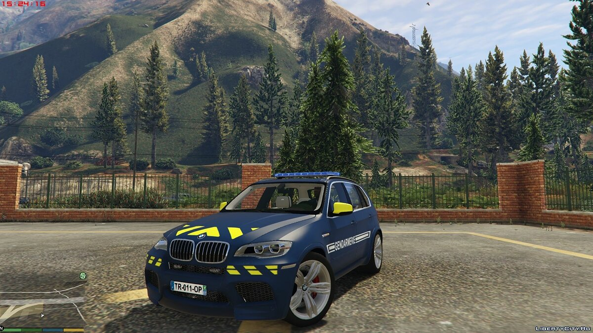BMW X5 French Gendarmerie [ELS Template] 1.0 для GTA 5