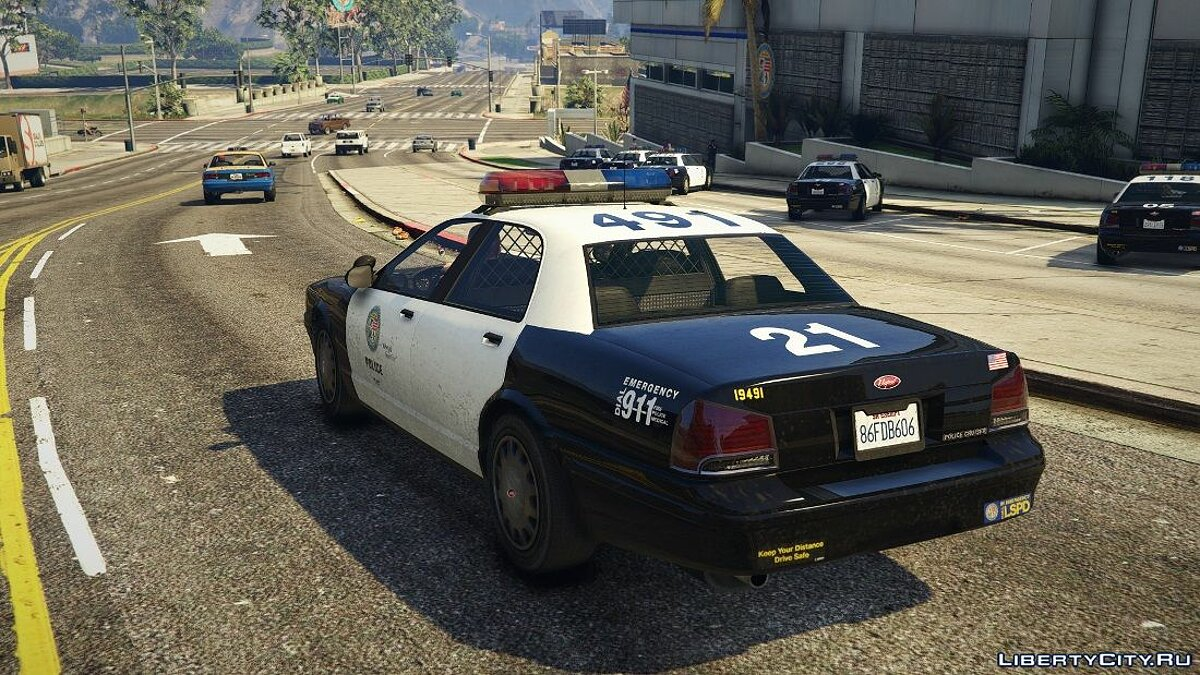 Early 2000s Stanier - LSPD [RDE Style] [Add-On / Replace] 1.0.0 для GTA 5 - скриншот #2