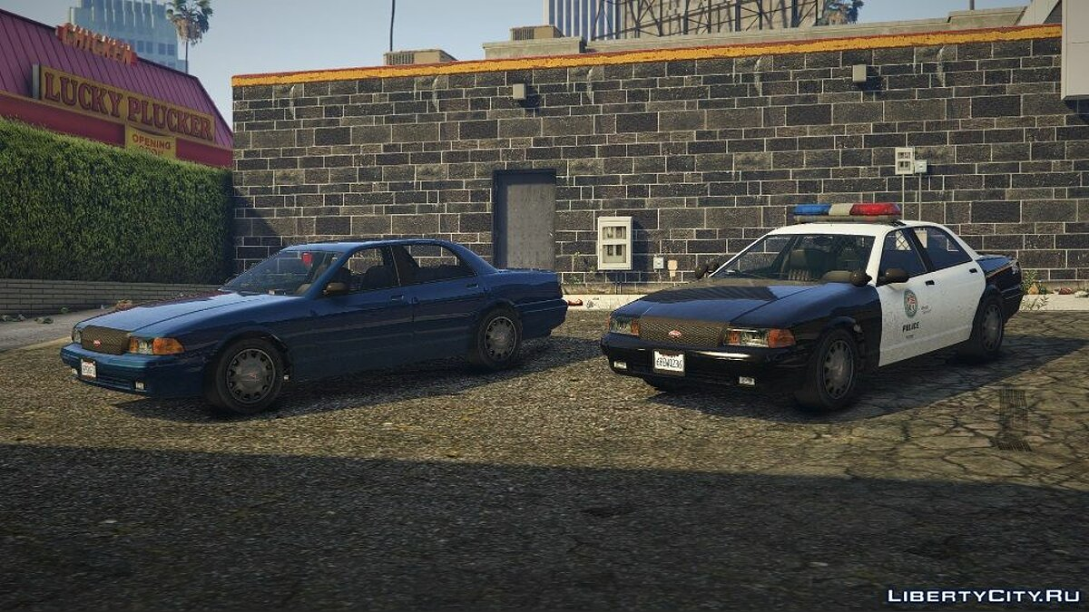 Early 2000s Stanier - LSPD [RDE Style] [Add-On / Replace] 1.0.0 для GTA 5 - скриншот #7