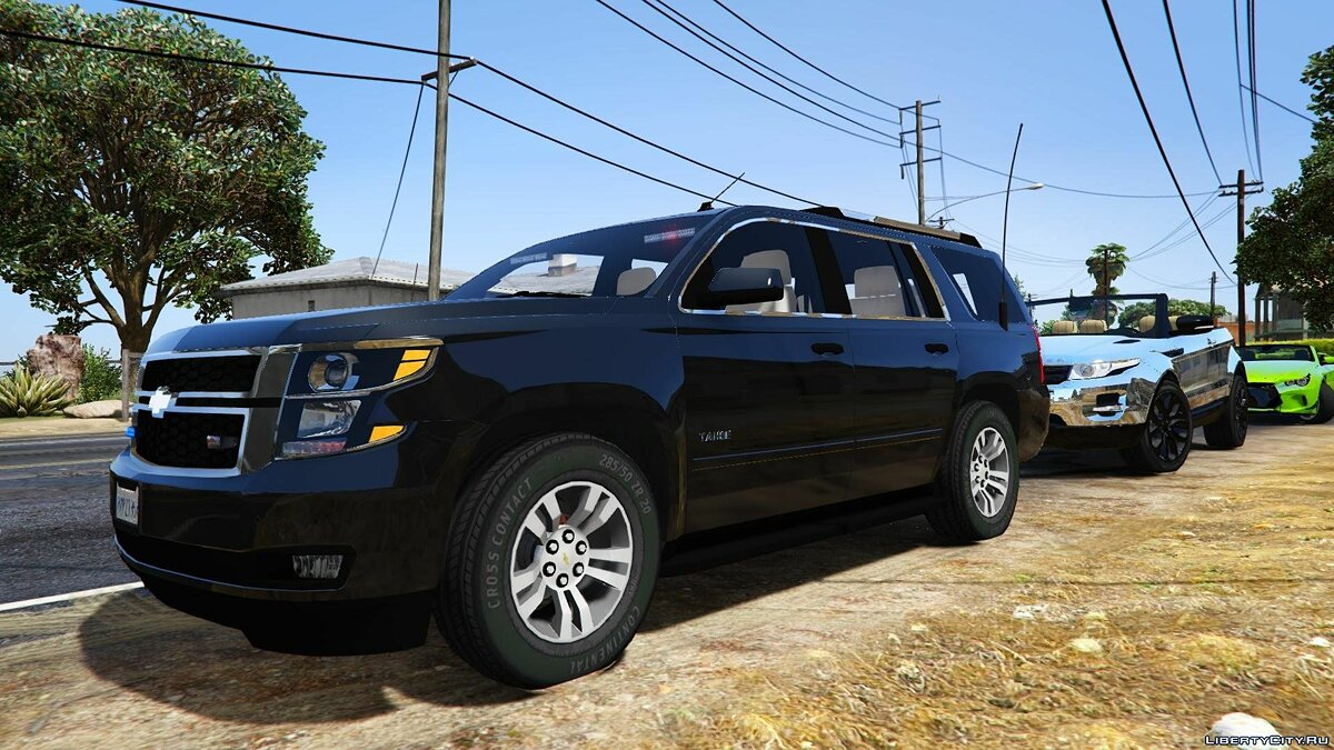 2015 Chevrolet Tahoe FBI (Unlocked) 2.0 для GTA 5