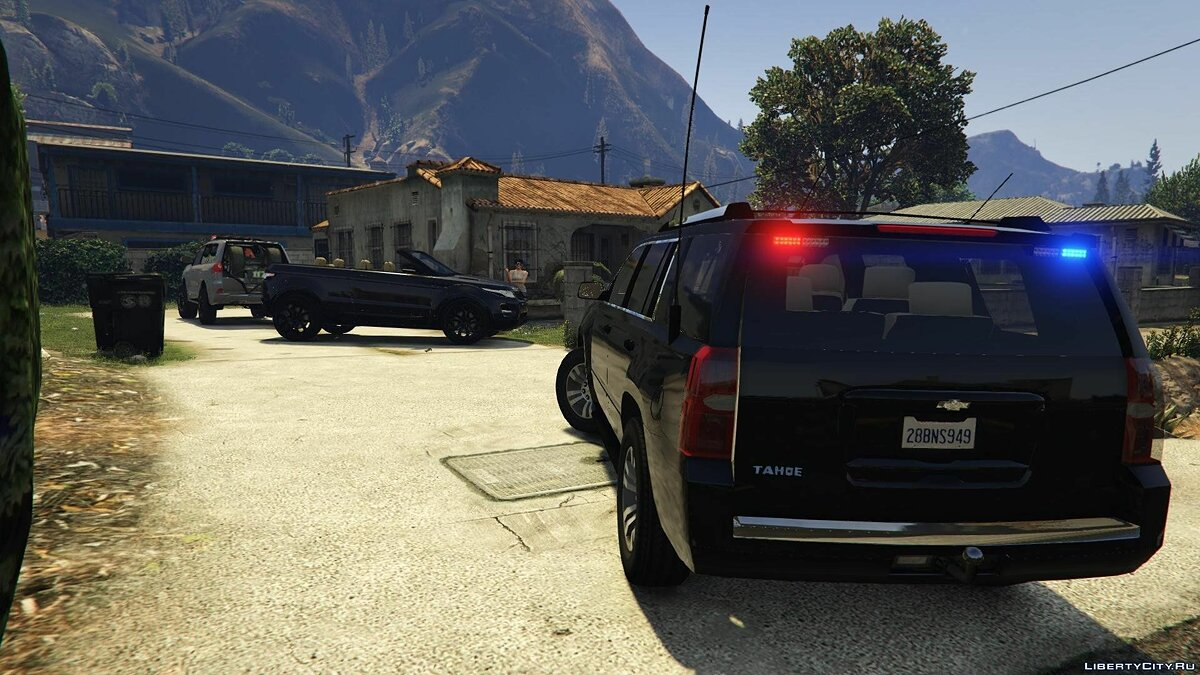 2015 Chevrolet Tahoe FBI (Unlocked) 2.0 для GTA 5 - скриншот #2