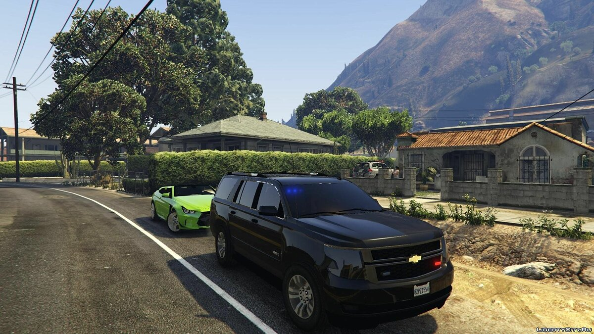 2015 Chevrolet Tahoe FBI (Unlocked) 2.0 для GTA 5 - скриншот #3