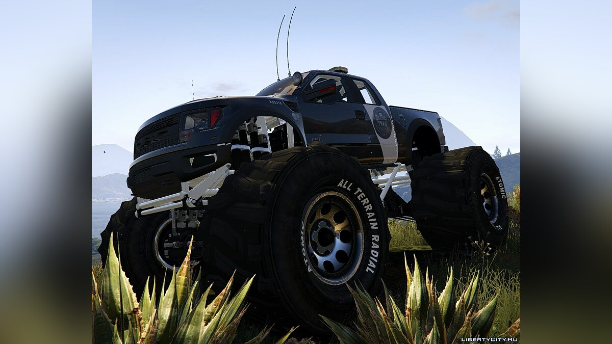 Raptor Police Interceptor Monster [Add-On] 1.0 для GTA 5