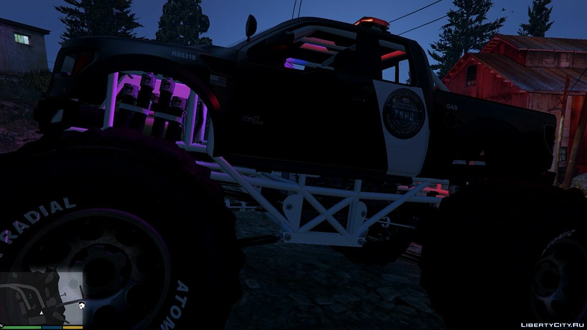 Raptor Police Interceptor Monster [Add-On] 1.0 для GTA 5 - скриншот #3