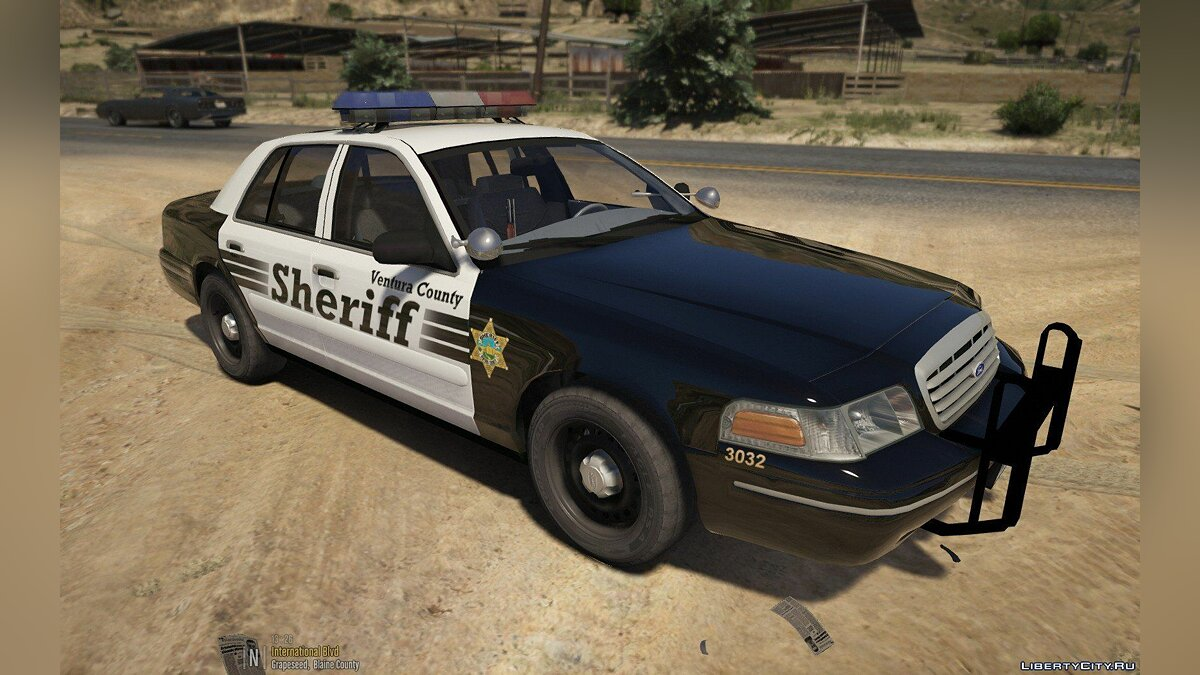 Crown Victoria VCSD MX7000 (ELS) 1.0 для GTA 5