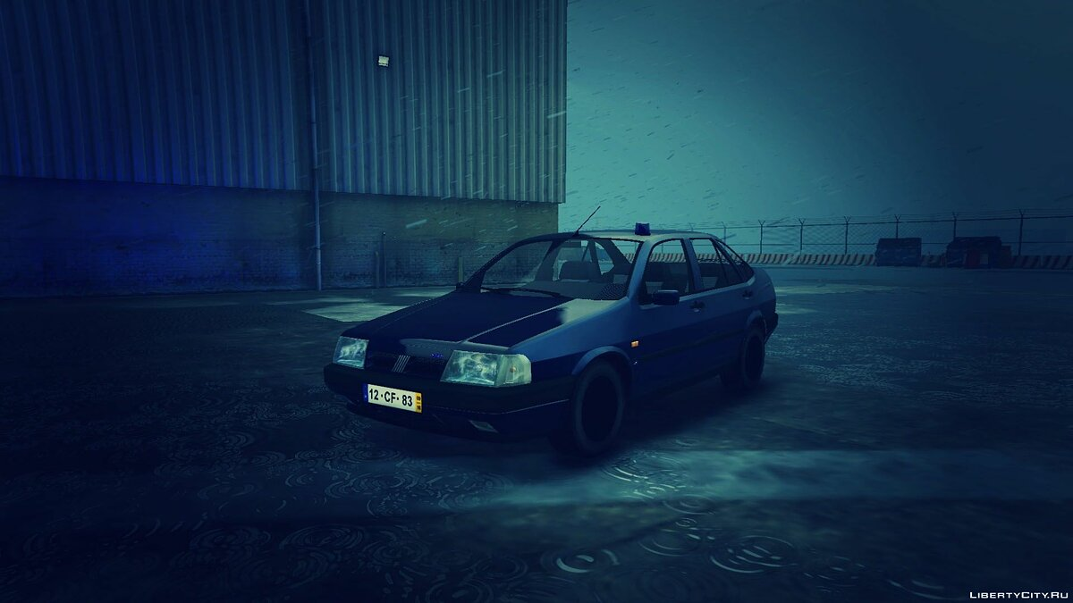 Portuguese Public Security Police Unmarked - Fiat Tempra [Add-On / Replace] 2.0 для GTA 5