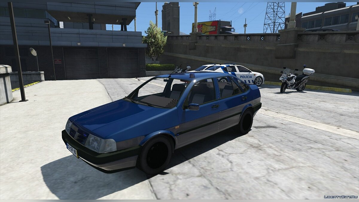 Portuguese Public Security Police Unmarked - Fiat Tempra [Add-On / Replace] 2.0 для GTA 5 - скриншот #2