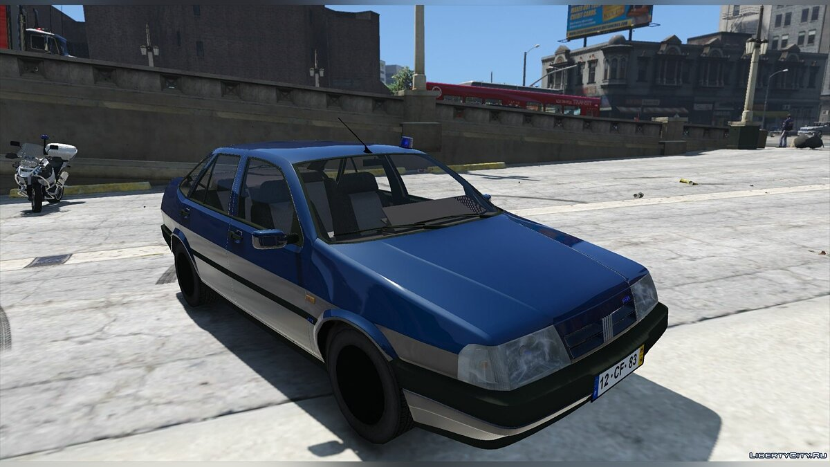 Portuguese Public Security Police Unmarked - Fiat Tempra [Add-On / Replace] 2.0 для GTA 5 - скриншот #3