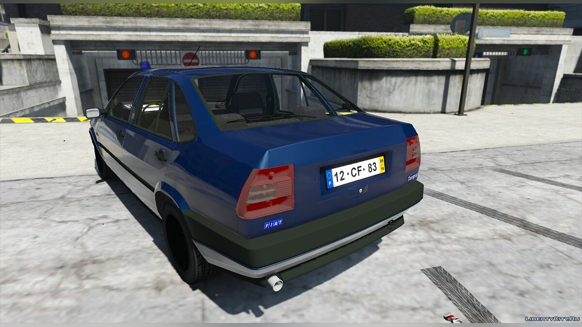 Portuguese Public Security Police Unmarked - Fiat Tempra [Add-On / Replace] 2.0 для GTA 5 - скриншот #6