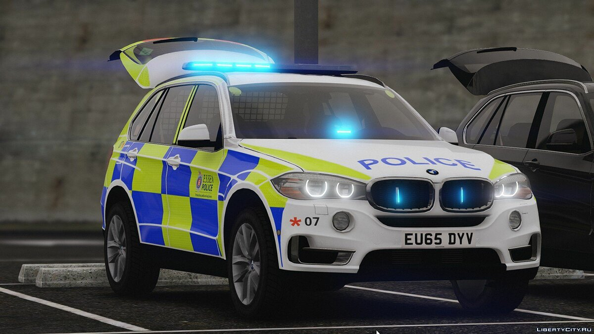2016 X5 Essex Police Pack (Marked ARV and Unmarked Traffic) 1.1 для GTA 5