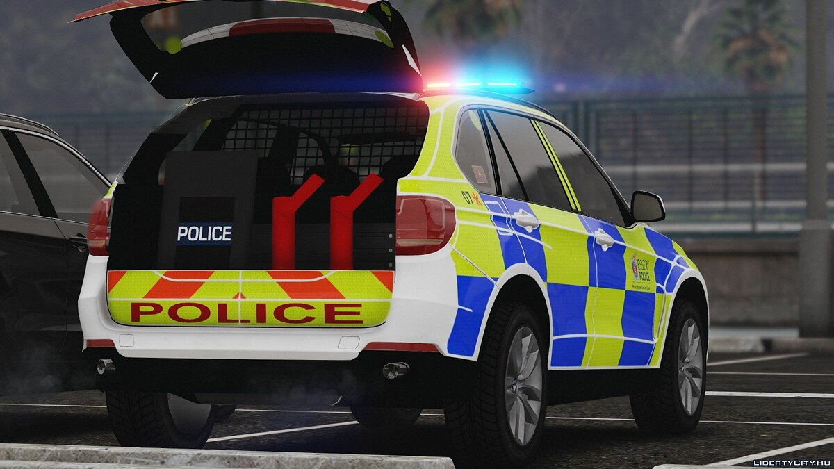 2016 X5 Essex Police Pack (Marked ARV and Unmarked Traffic) 1.1 для GTA 5 - скриншот #2