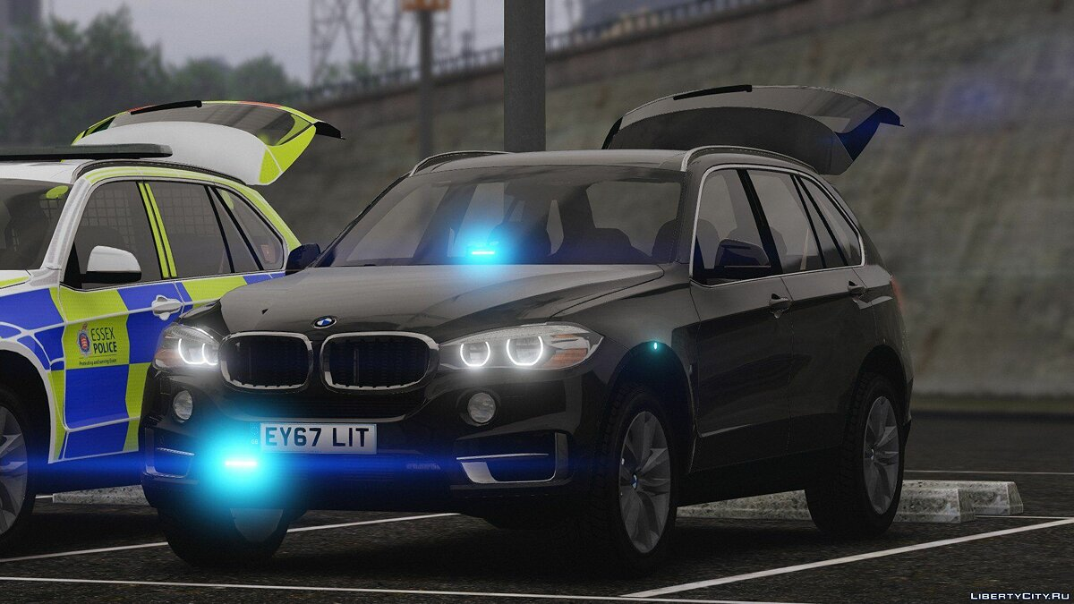 2016 X5 Essex Police Pack (Marked ARV and Unmarked Traffic) 1.1 для GTA 5 - скриншот #3