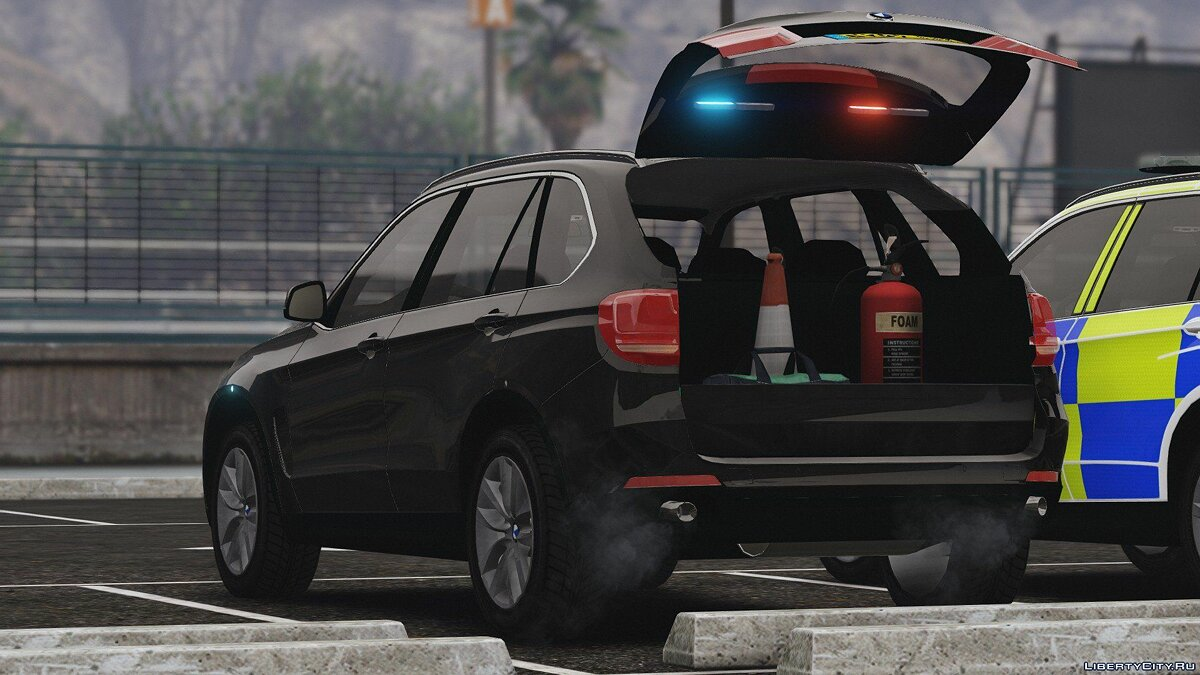 2016 X5 Essex Police Pack (Marked ARV and Unmarked Traffic) 1.1 для GTA 5 - скриншот #4