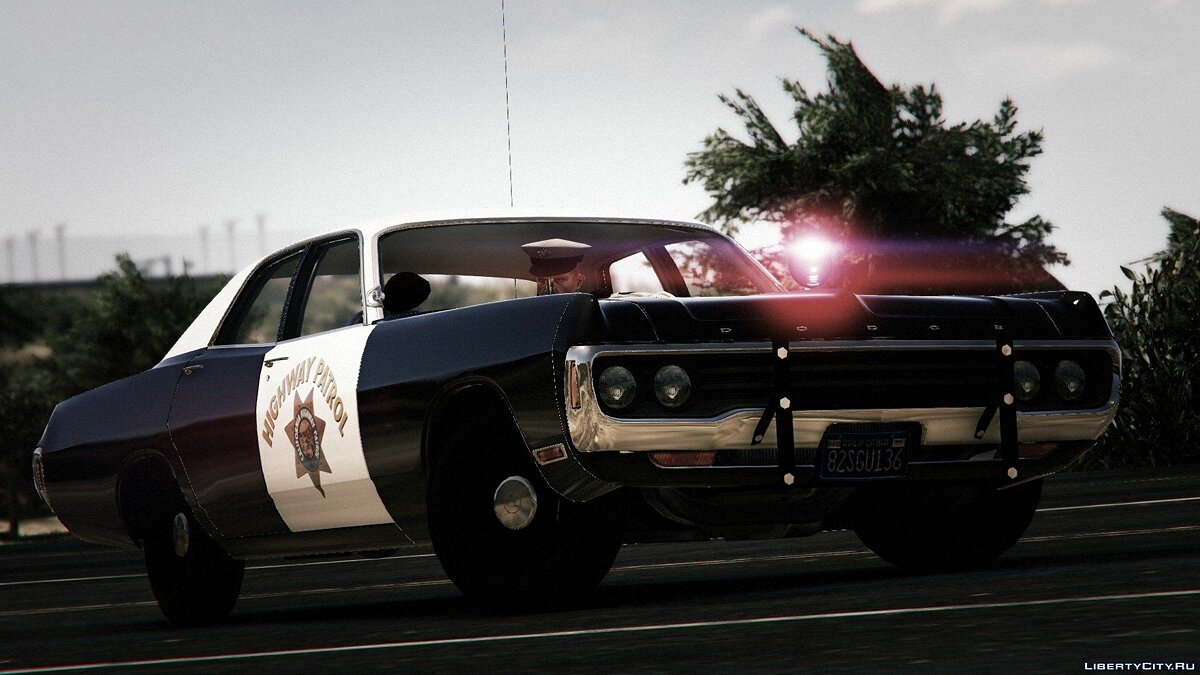 1971 Dodge Polara - California Highway Patrol для GTA 5