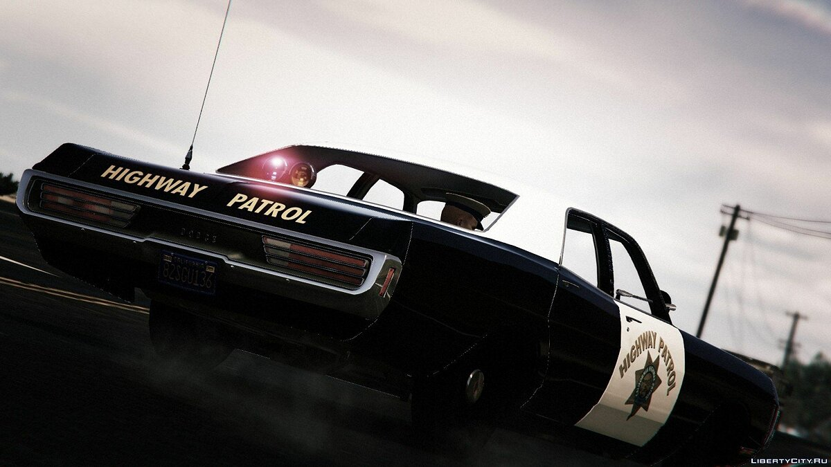 1971 Dodge Polara - California Highway Patrol для GTA 5 - скриншот #3