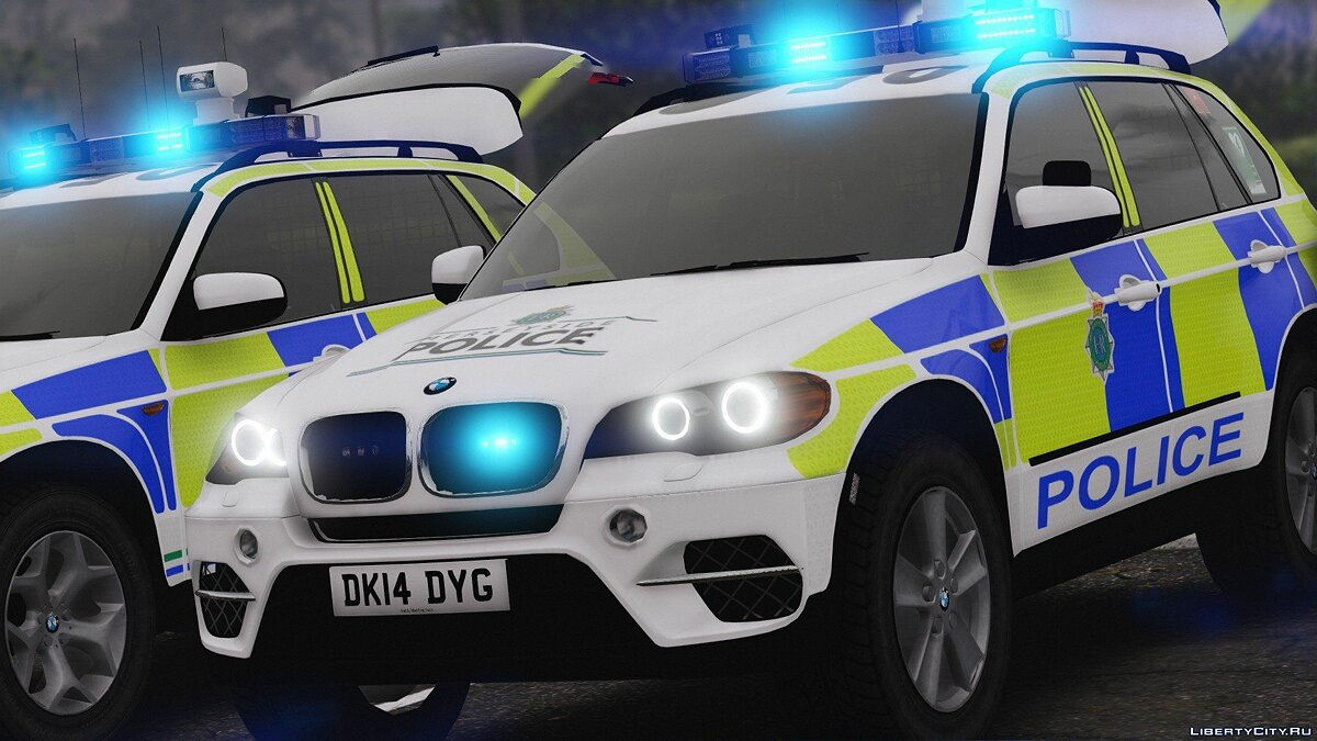 Merseyside Police BMW X5 Marked Pack [ELS] 1.0.0 для GTA 5
