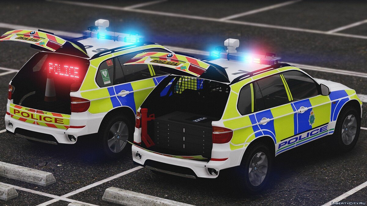 Merseyside Police BMW X5 Marked Pack [ELS] 1.0.0 для GTA 5 - скриншот #2