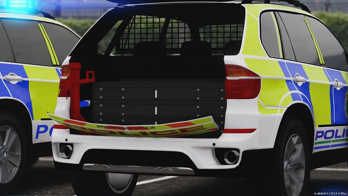 Merseyside Police BMW X5 Marked Pack [ELS] 1.0.0 для GTA 5 - скриншот #4