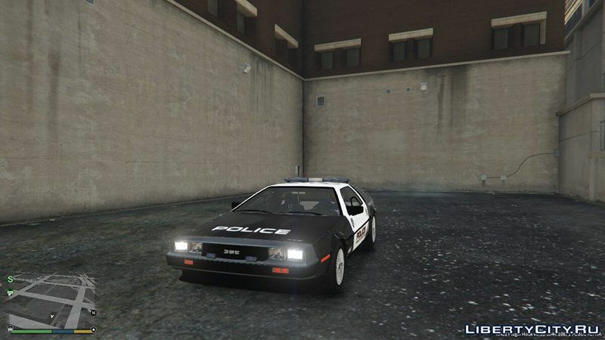Delorean Dmc12 Police для GTA 5