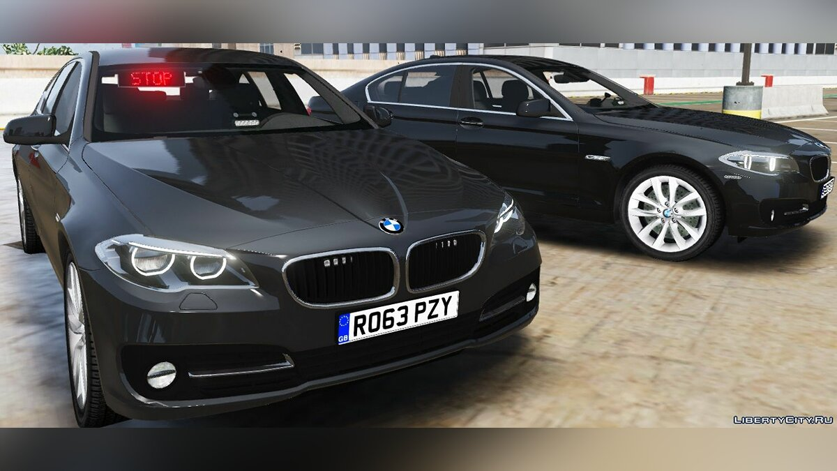 BMW British Unmarked Pack [ELS | Replace] 1.1 для GTA 5 - скриншот #2