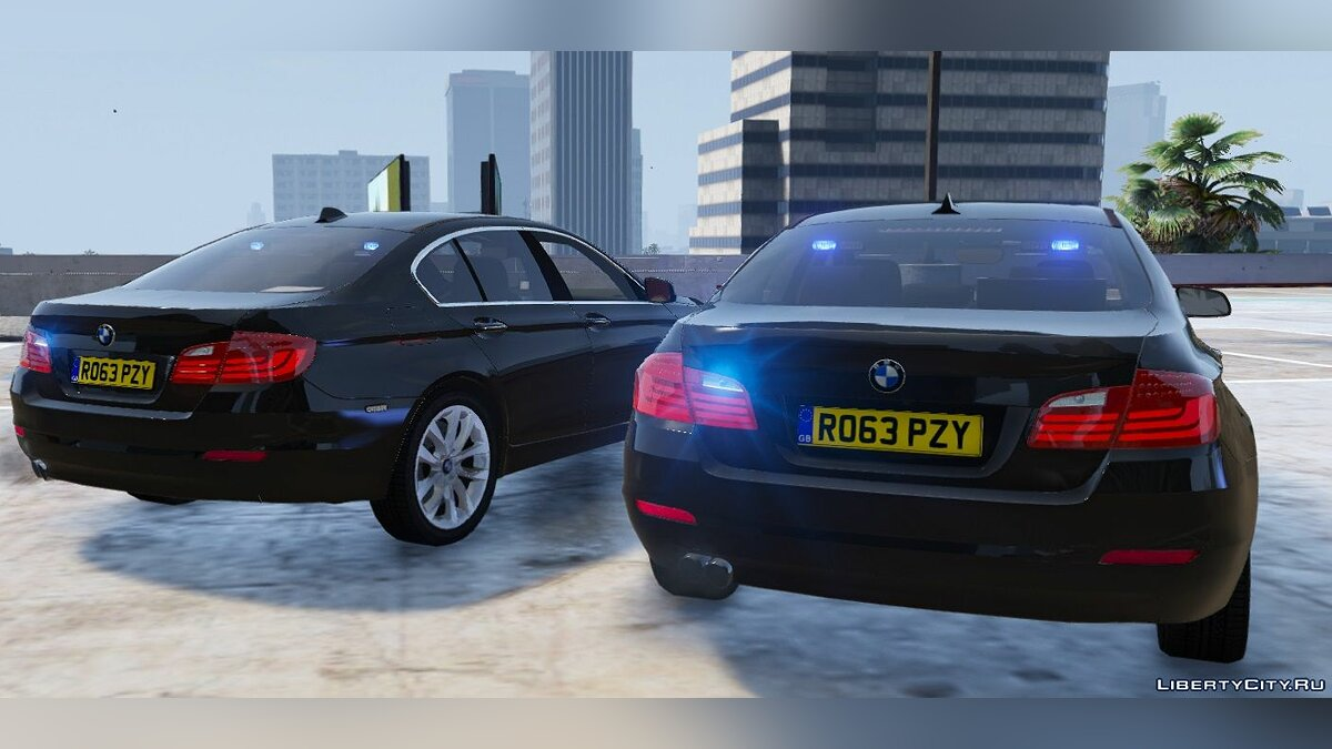 BMW British Unmarked Pack [ELS | Replace] 1.1 для GTA 5 - скриншот #3