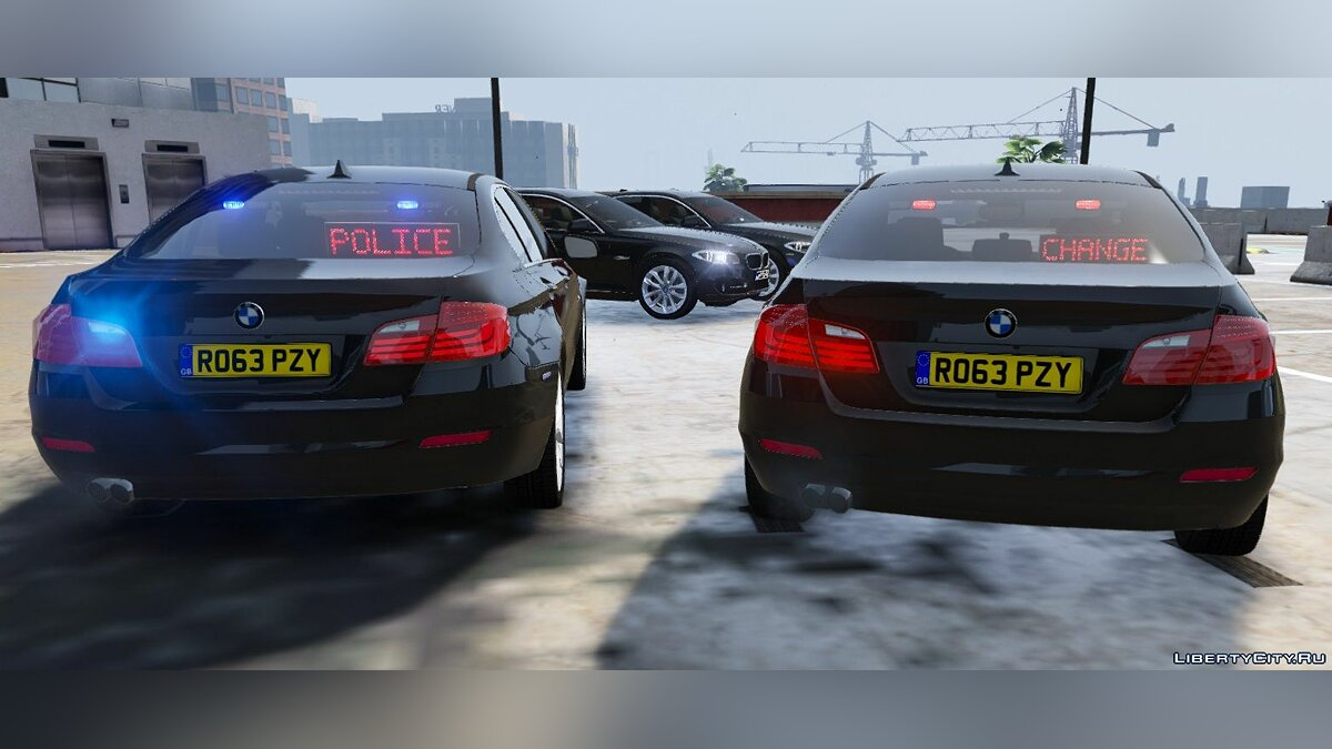 BMW British Unmarked Pack [ELS | Replace] 1.1 для GTA 5 - скриншот #5