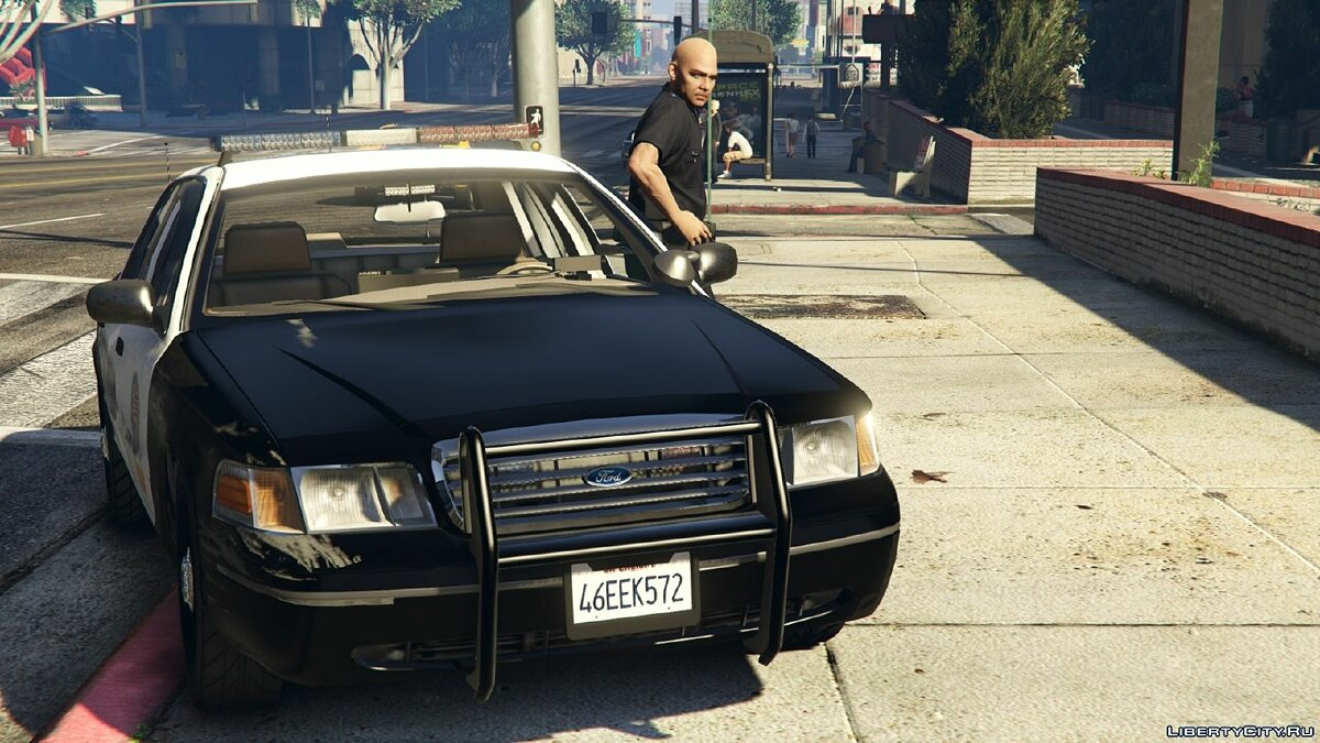 Машина полиции  1999 Ford Crown Victoria Police + Liveries для GTA 5