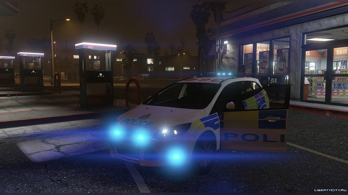 2014 Surrey Police Ford Focus Estate для GTA 5