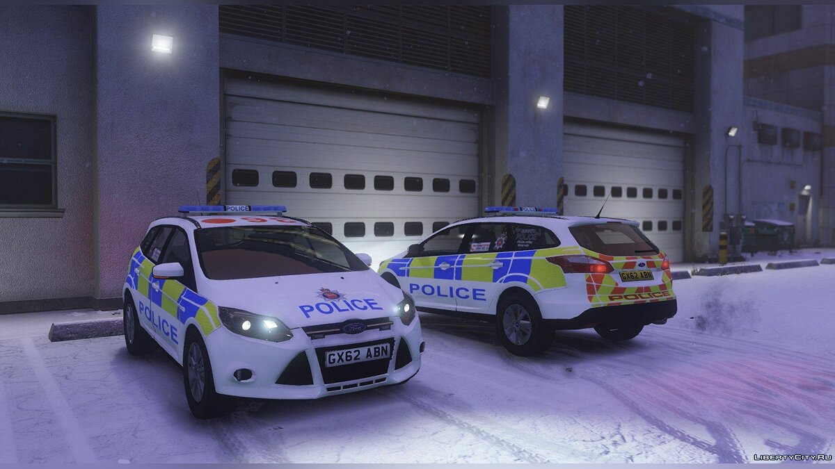 2014 Surrey Police Ford Focus Estate для GTA 5 - скриншот #3