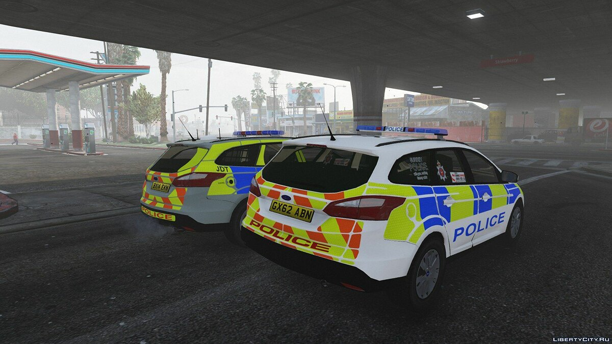 2014 Surrey Police Ford Focus Estate для GTA 5 - скриншот #4