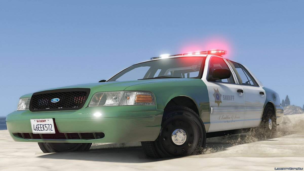 San Andreas Sheriff's Crown Victoria 2.2 для GTA 5