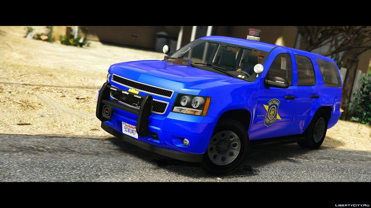 Машина полиции Chevrolet Tahoe Michigan State Police 0.1 [BETA] для GTA 5