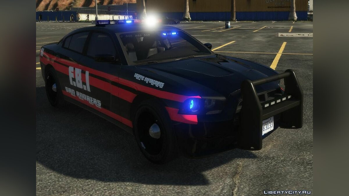 Машина полиции 2014 Dodge Charger PPV | FBI Traffic Enforcement | ELS | HQ 1.0 для GTA 5