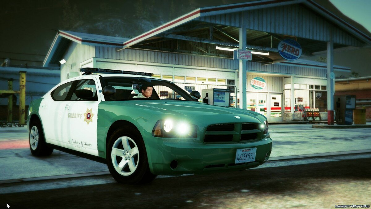 San Andreas Sheriff's Dodge Charger (2009 PPV) для GTA 5