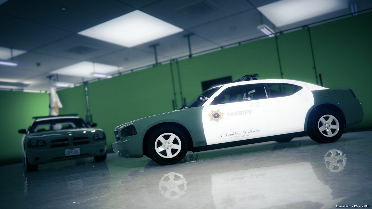 San Andreas Sheriff's Dodge Charger (2009 PPV) для GTA 5 - скриншот #4