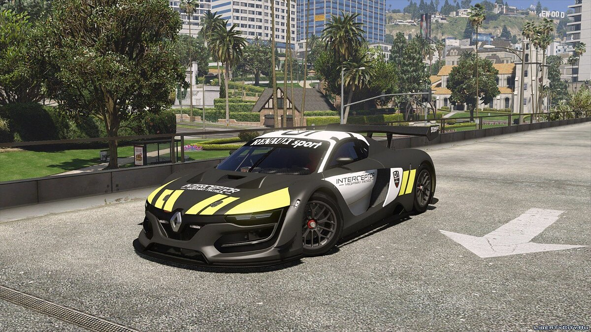 Renault Sport RS Interceptor [Add-On / Replace | Template] для GTA 5