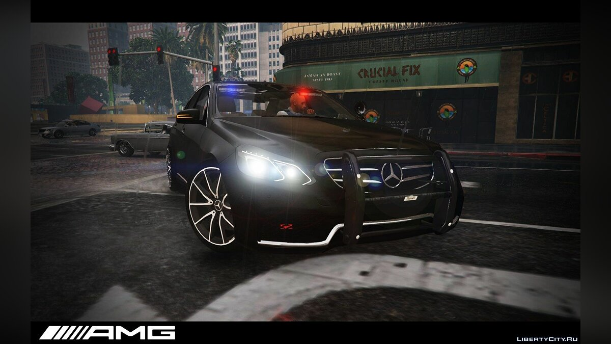 Mercedes-Benz E63 AMG Unmarked Cruiser для GTA 5