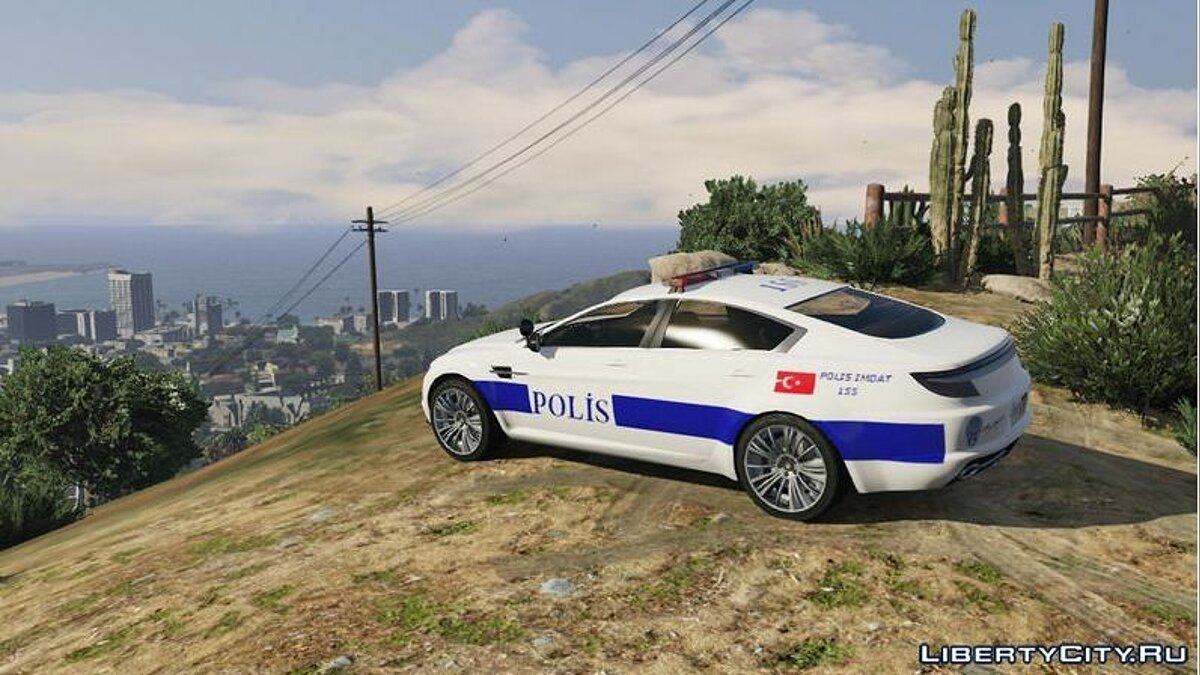 Turkish Police Car для GTA 5 - скриншот #3