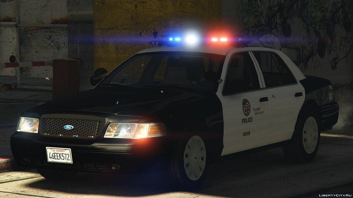 2006 Ford Crown Victoria - Los Angeles Police 3.0 для GTA 5