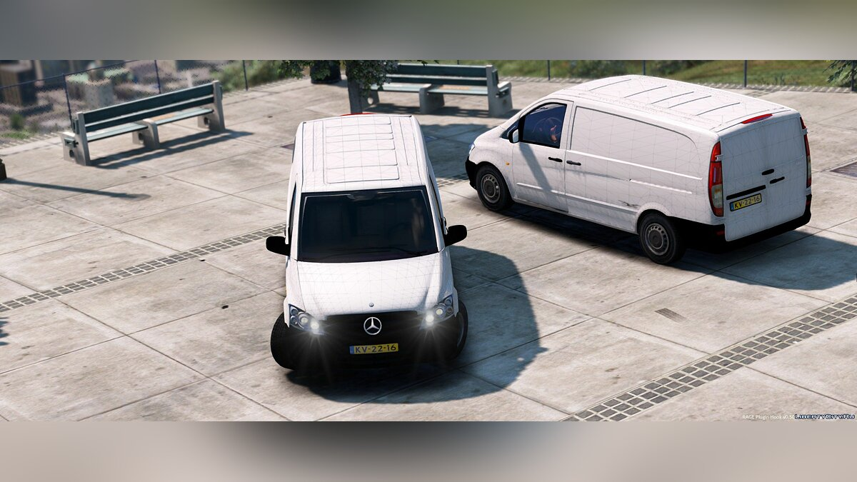 Mercedes-Benz Vito [Unlocked] 1.1 для GTA 5 - скриншот #4