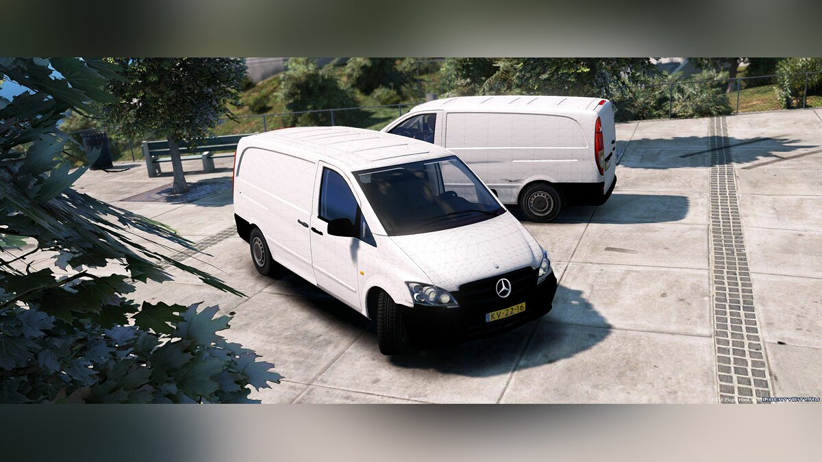 Mercedes-Benz Vito [Unlocked] 1.1 для GTA 5