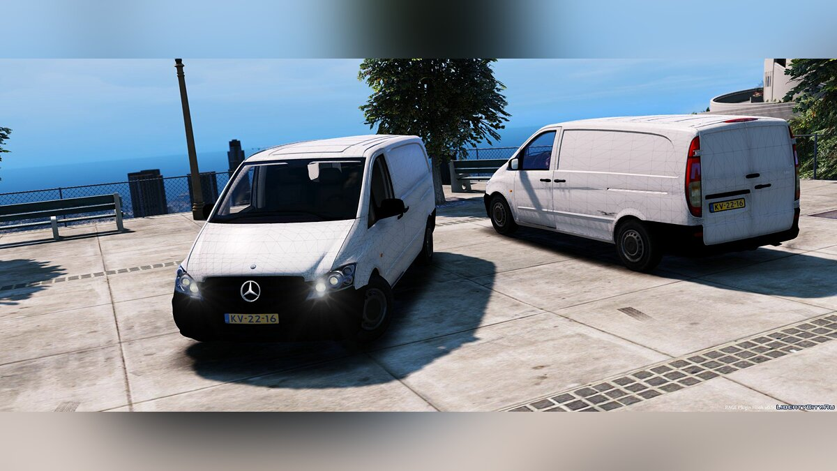 Mercedes-Benz Vito [Unlocked] 1.1 для GTA 5 - скриншот #3