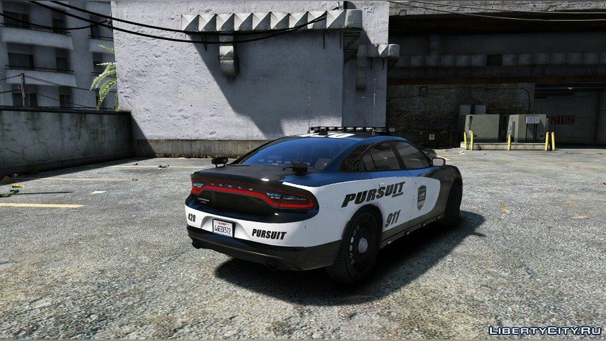 [ELS] 2015 Dodge Charger Pursuit 1.0.0 для GTA 5 - скриншот #4
